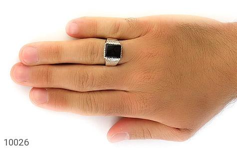 انگشتر عقیق رکاب دست ساز - عکس 7