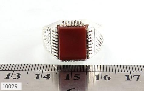 انگشتر عقیق رکاب دست ساز - تصویر 6