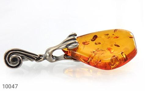 مدال کهربا بولونی لهستان عسلی خوش رنگ - تصویر 2