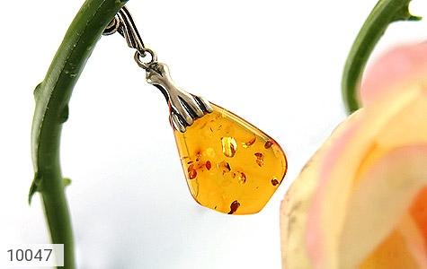 مدال کهربا بولونی لهستان عسلی خوش رنگ - عکس 5