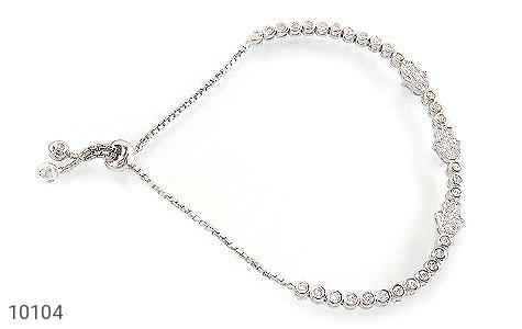 دستبند نقره زینتی طرح آوا زنانه - عکس 1