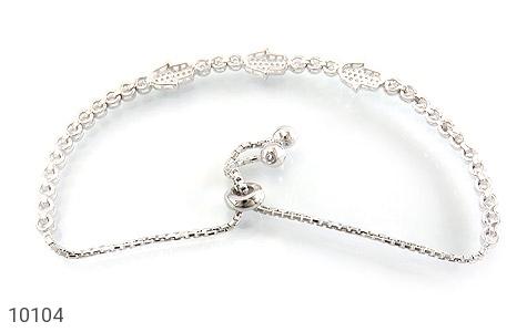 دستبند نقره زینتی طرح آوا زنانه - تصویر 2