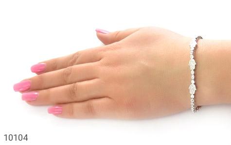 دستبند نقره زینتی طرح آوا زنانه - عکس 7