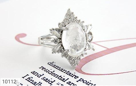 انگشتر دُر نجف طرح ملکه زنانه - عکس 5