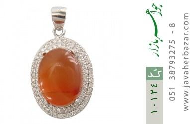 مدال عقیق یمن حکاکی شرف الشمس - کد 10124