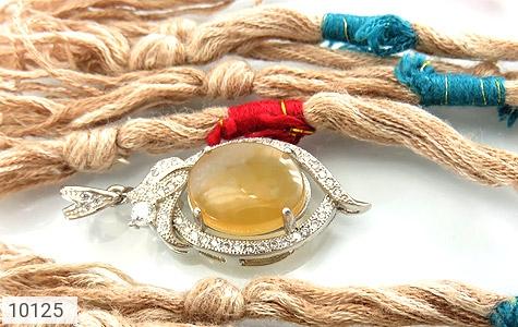 مدال عقیق یمن حکاکی شرف الشمس - تصویر 4