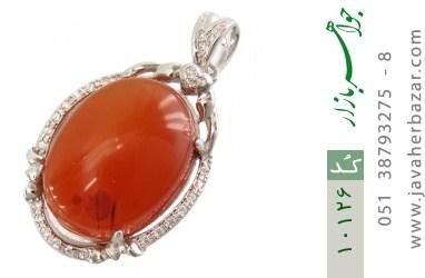 مدال عقیق یمن حکاکی شرف الشمس - کد 10126