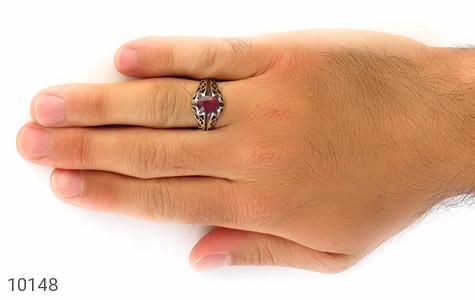انگشتر یاقوت سرخ افریقایی مرغوب مردانه - عکس 7