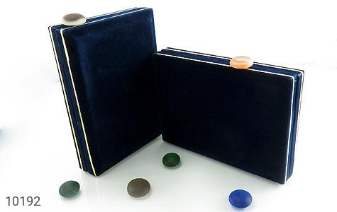 جعبه جواهر مخملی سایز بزرگ - تصویر 4