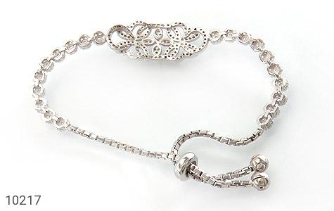 دستبند نقره درشت طرح پرنسس زنانه - تصویر 2