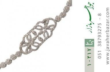 دستبند نقره درشت طرح پرنسس زنانه - کد 10217