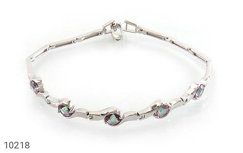 دستبند توپاز هفت رنگ طرح افسون زنانه - عکس 1