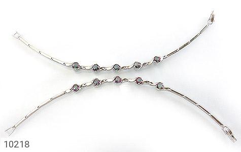دستبند توپاز هفت رنگ طرح افسون زنانه - تصویر 2