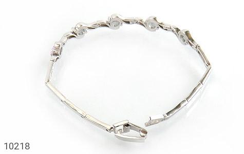 دستبند توپاز هفت رنگ طرح افسون زنانه - عکس 3