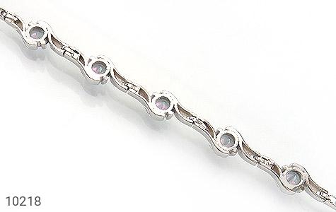 دستبند توپاز هفت رنگ طرح افسون زنانه - تصویر 4