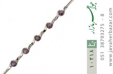 دستبند توپاز هفت رنگ طرح افسون زنانه - کد 10218