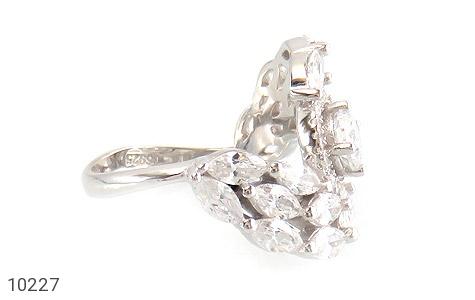 سرویس نقره مجلسی طرح الماس زنانه - عکس 3
