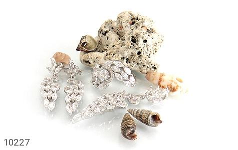 سرویس نقره مجلسی طرح الماس زنانه - عکس 7