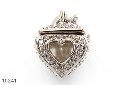 مدال مروارید طرح صندوق جواهرات قلب - تصویر 2