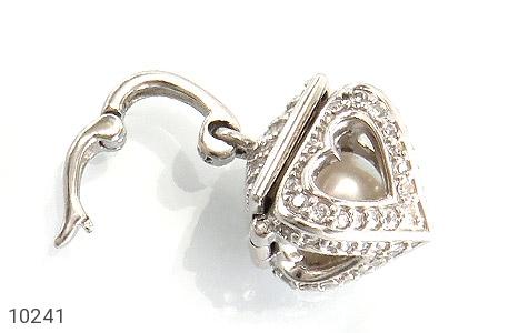 مدال مروارید طرح صندوق جواهرات قلب - تصویر 6
