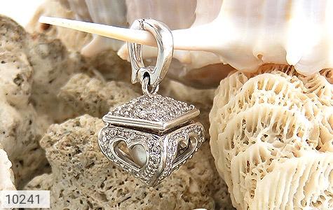 مدال مروارید طرح صندوق جواهرات قلب - عکس 7