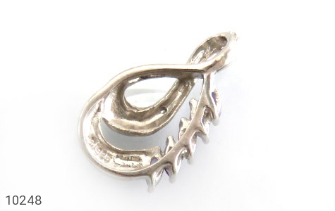 مدال آمتیست و الماس درخشان زنانه - عکس 3