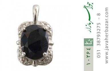 مدال یاقوت کبود زنانه - کد 10264