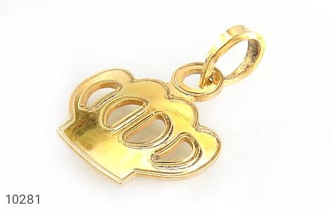 مدال نقره طرح تاج زنانه - عکس 1