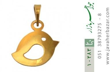 مدال نقره طرح فانتزی گنجشک زنانه - کد 10283