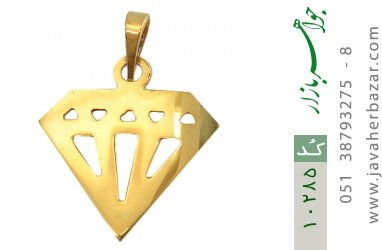 مدال نقره طرح Diamond - کد 10285
