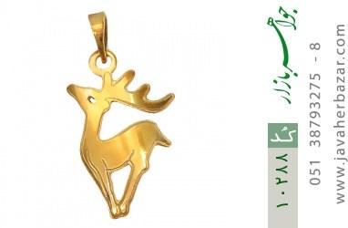 مدال نقره طرح فانتزی گوزن زنانه - کد 10288