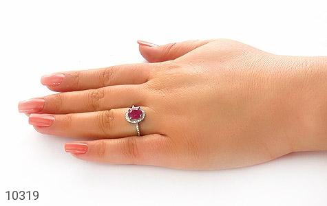 انگشتر یاقوت سرخ طرح آویسا زنانه - عکس 7