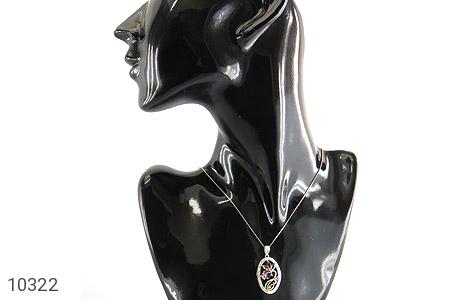 مدال تورمالین درشت طرح نشاط زنانه - تصویر 6