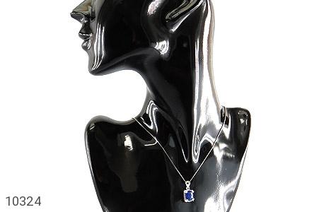 مدال یاقوت کبود طرح ارمغان زنانه - عکس 7