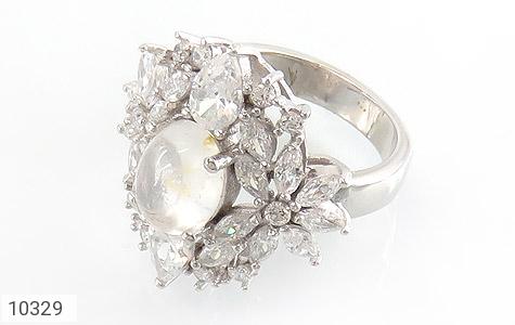 انگشتر دُر نجف جواهرنشان زنانه - عکس 1