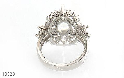 انگشتر دُر نجف جواهرنشان زنانه - تصویر 4