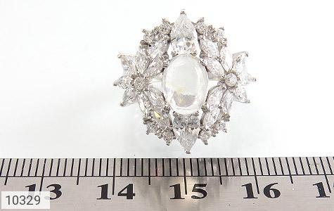 انگشتر دُر نجف جواهرنشان زنانه - تصویر 6