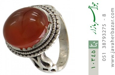 انگشتر عقیق یمن - کد 10345