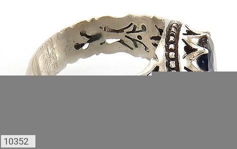 انگشتر یاقوت آفریقایی هنر دست استاد احمدی - عکس 3
