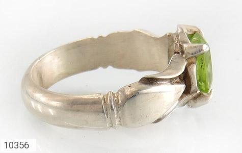 انگشتر زبرجد رکاب دست ساز - عکس 3