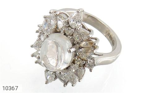انگشتر دُر نجف طرح جواهر زنانه - عکس 1