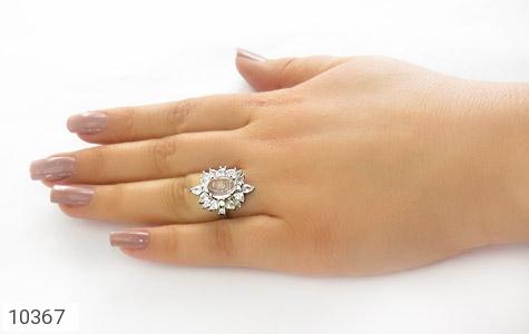 انگشتر دُر نجف طرح جواهر زنانه - عکس 7