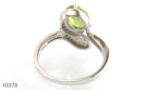 انگشتر زبرجد خوش رنگ زنانه - تصویر 4