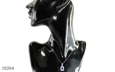 مدال آمتیست طرح بنفشه زنانه - عکس 7