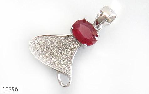 مدال یاقوت سرخ طرح آتاناز زنانه - عکس 1