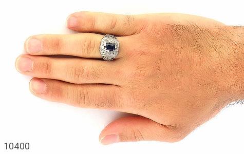 انگشتر یاقوت هنر دست استاد الخاتم - عکس 7