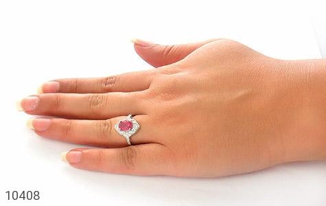 انگشتر یاقوت سرخ طرح بنیتا زنانه - عکس 7
