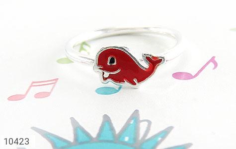 سرویس نقره طرح دلفین همراه زنجیر بچه گانه - عکس 9