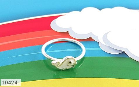 سرویس نقره طرح دلفین همراه زنجیر بچه گانه - تصویر 4