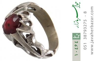 انگشتر یاقوت آفریقایی رکاب دست ساز - کد 10464